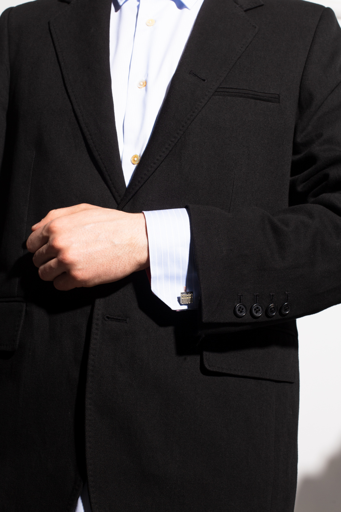 Burberry Embossed cufflinks