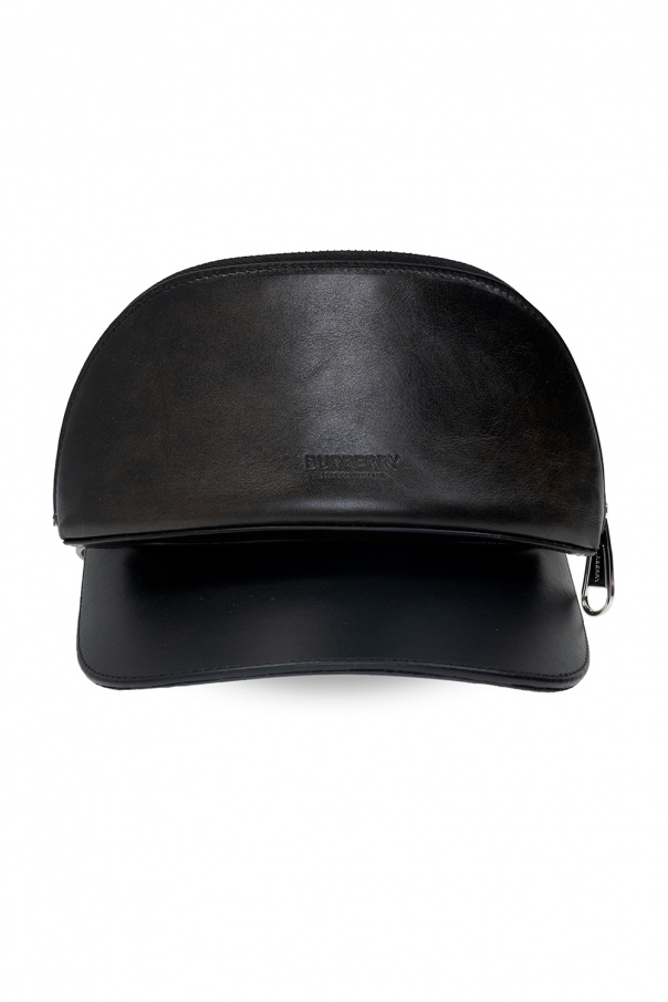 Burberry Visor with zip pouch