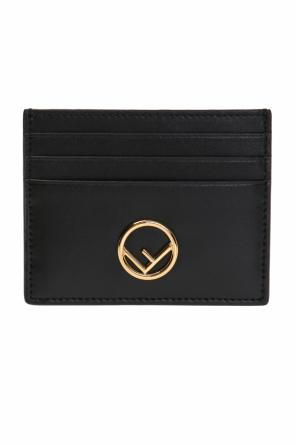 Card case with metal logo od Fendi