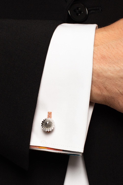 Lanvin Textured cufflinks