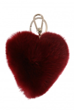 Heart-shaped key ring od Furla