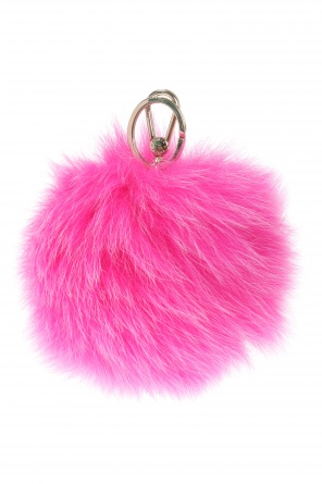 Key ring with fur od Furla