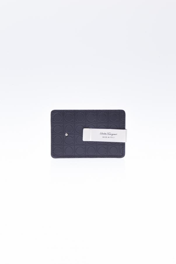 save off fa6b7 f397b Credit Card Holder with a Money Clip Salvatore Ferragamo - Vitkac ...