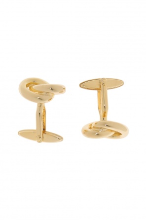 Metal cuff links od Lanvin