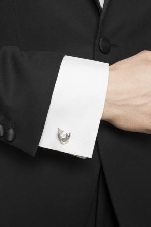 Fish cuff links od Lanvin