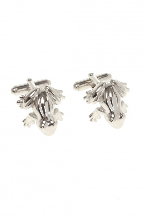 Animal motif cuff links od Lanvin