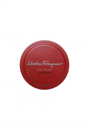 Dark brown shoe wax od Salvatore Ferragamo