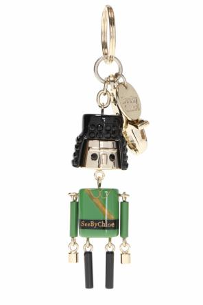 Key ring with charm od See By Chloe