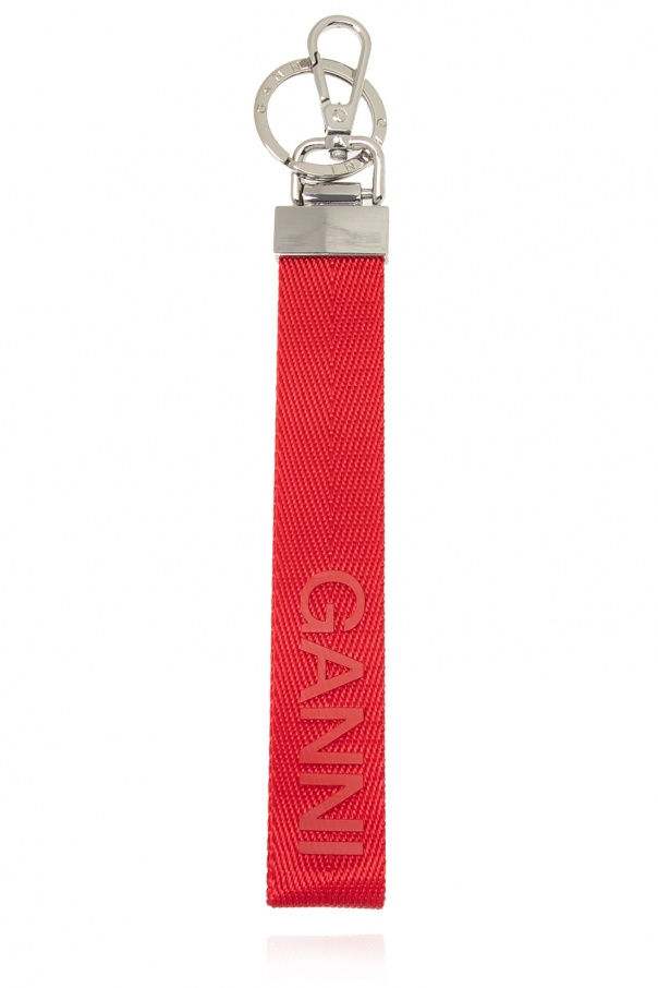 Ganni Strapped keyring