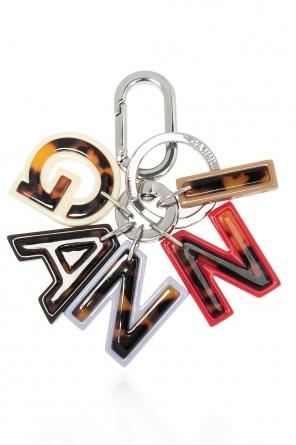 Logo keyring od Ganni