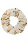 Ganni Patterned hair tie
