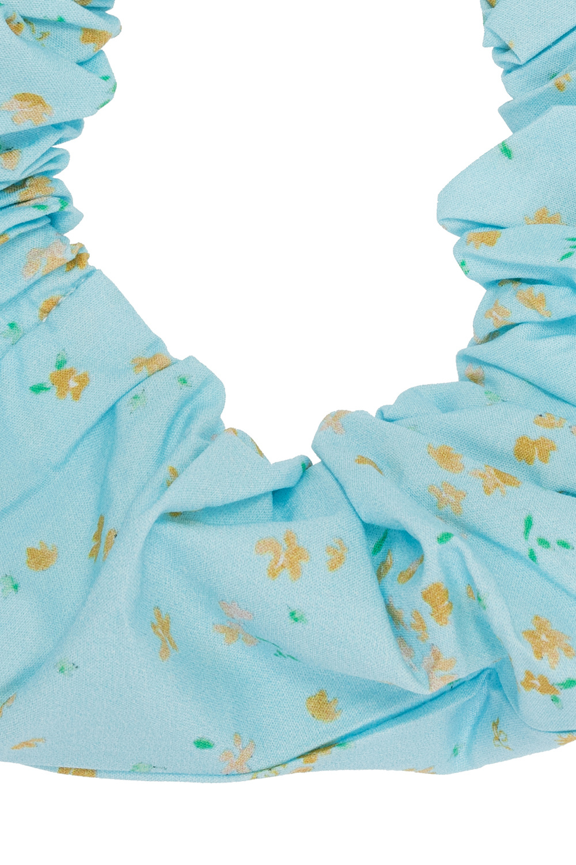Ganni Printed scrunchie