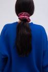 Ganni Floral-printed scrunchie