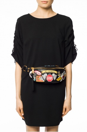 Patched belt bag od Moschino
