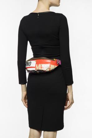 Patterned belt bag od Moschino