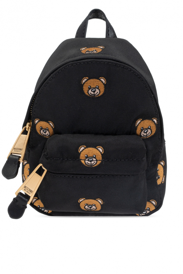 Moschino Micro backpack with Teddy bear