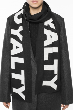 'loyalty' scarf od Versace