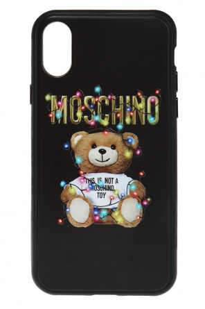 Capsule collection ss19 iphone x case od Moschino