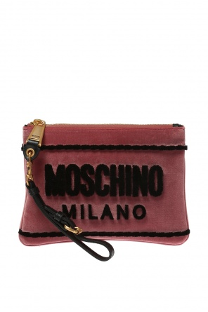 Sachet on a wrist strap od Moschino