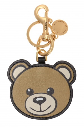 Teddy bear head key ring od Moschino