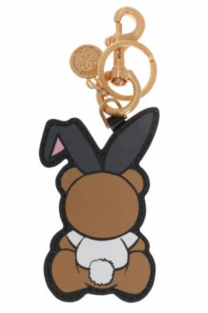 'bear playboy' key ring od Moschino