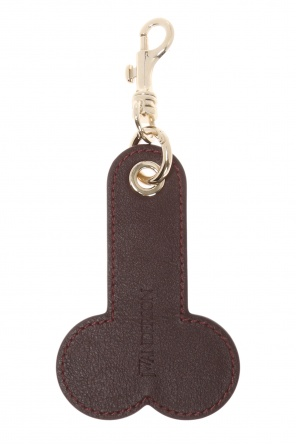 Logo-embossed key ring od J.W. Anderson