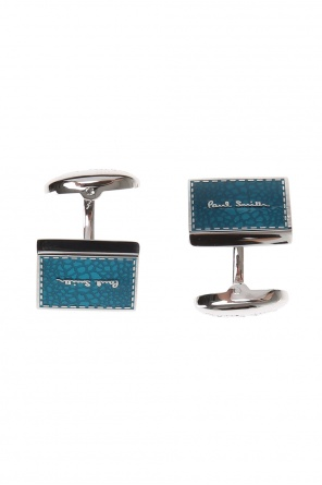 Brass cufflinks od Paul Smith