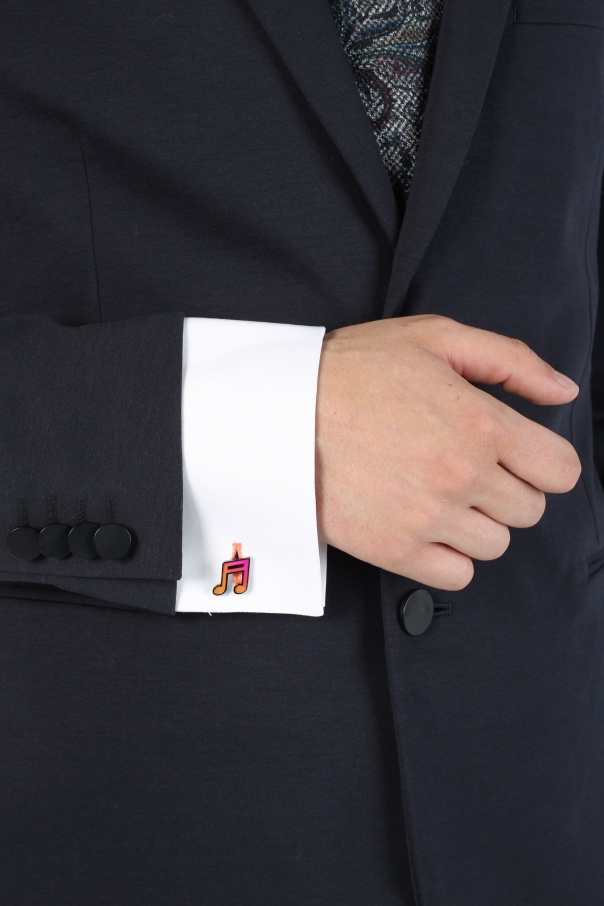 Music note cuff links od Paul Smith