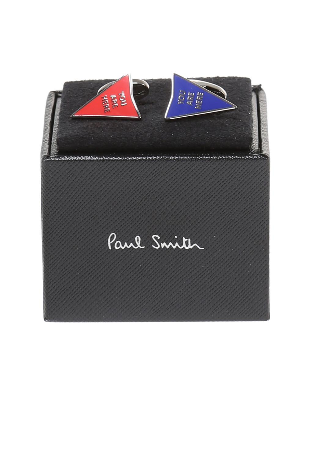 Paul Smith Triangular cuff links