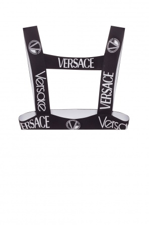 Elastic harness with logo od Versace