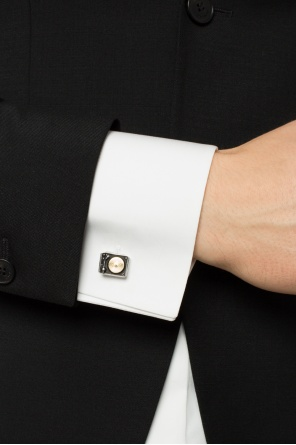 Gramophone-shaped cuff links od Paul Smith