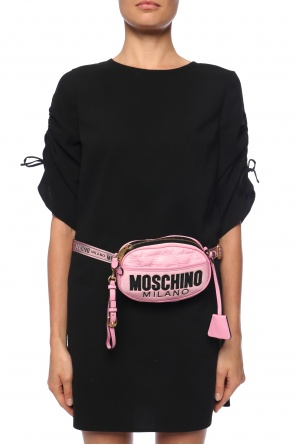 Logo-embroidered belt bag od Moschino