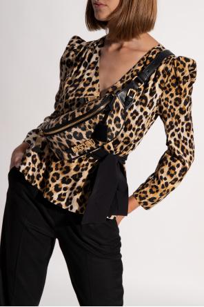 Animal-motif belt bag od Moschino