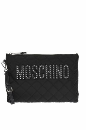Quilted clutch od Moschino