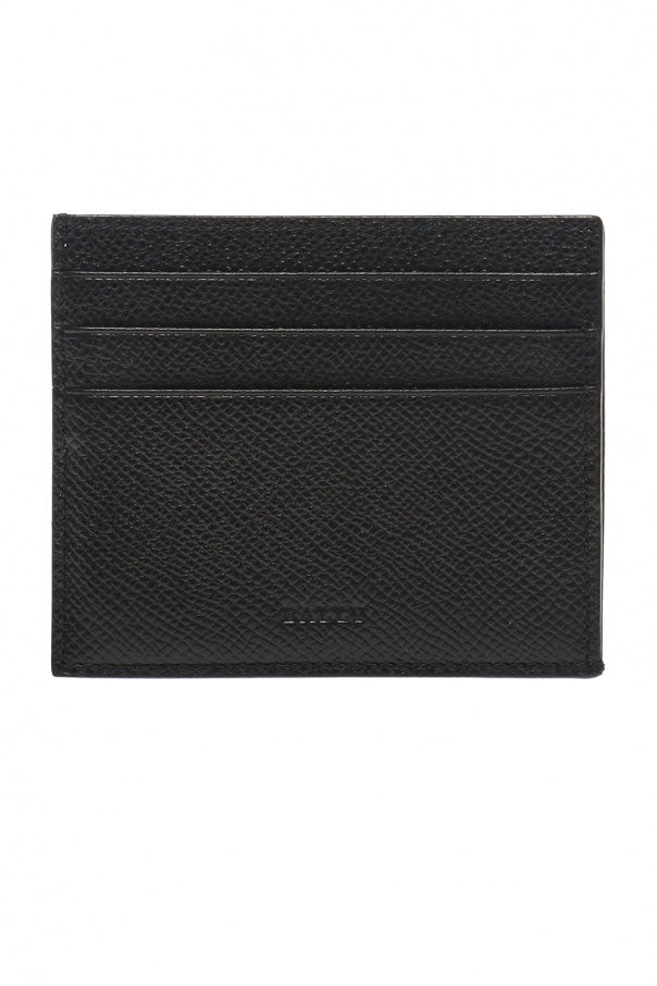 Bally Logo-embossed card case