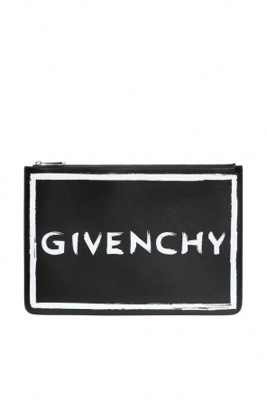 Logo-printed clutch od Givenchy