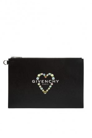 b4590b0b7132c Kopertówka z nadrukowanym logo od Givenchy Kopertówka z nadrukowanym logo  od Givenchy