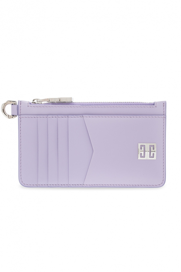 Givenchy Leather card case with logo