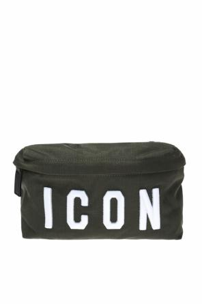 Waist bag with an 'icon' inscription od Dsquared2