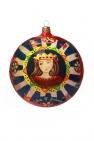 Dolce & Gabbana Hand-painted Christmas ornament