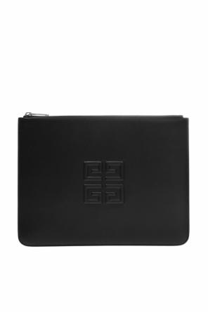 Clutch bag with convex logo od Givenchy