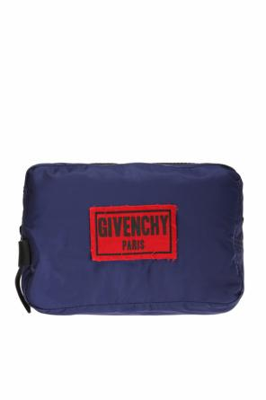 Logo-patched wash bag od Givenchy