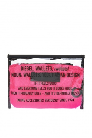 Transparent wash bag od Diesel