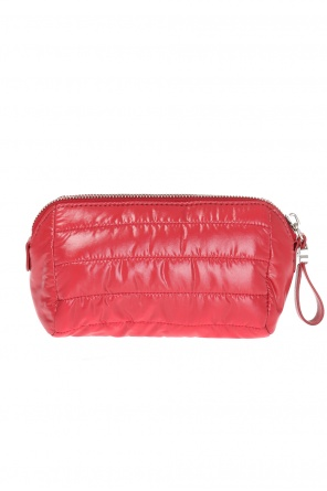 Quilted logo wash bag od Moncler