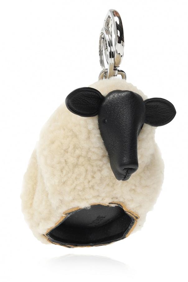 Loewe Sheep charm keyring