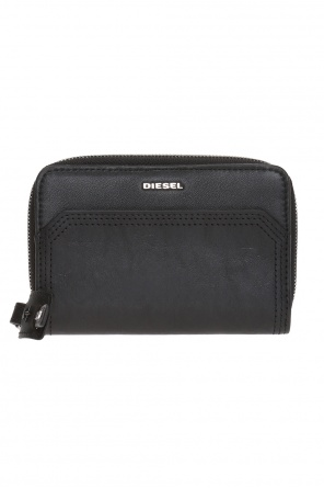 'carly' card case with metal logo od Diesel