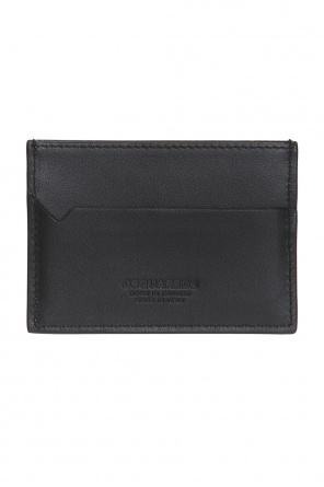 Card case with a metal logo od Dsquared2