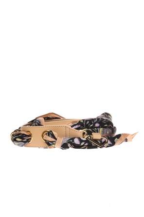 Bag belt with a silk scarf od Chloe