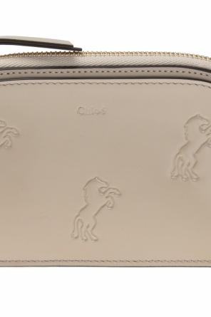 Animal motif wallet od Chloe