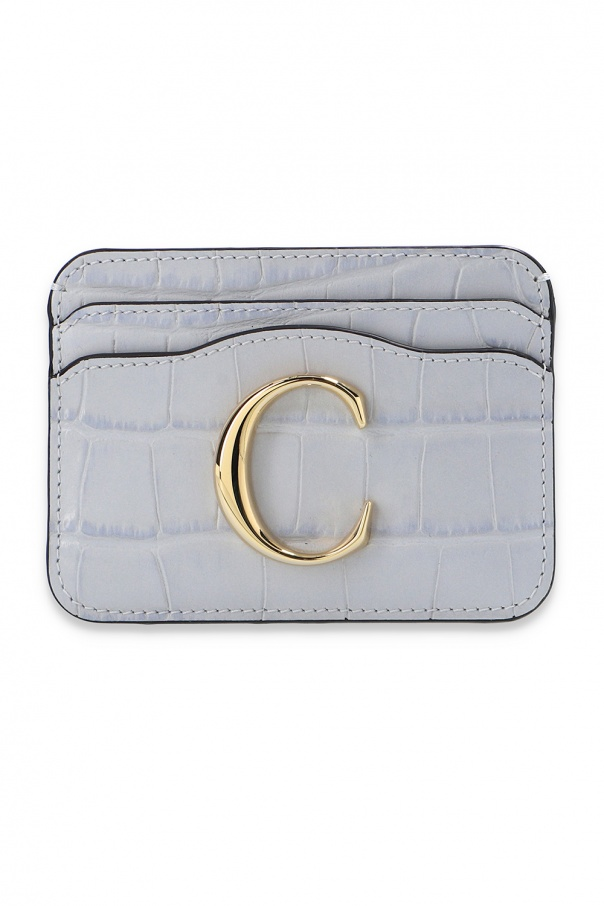 Chloé Branded card case